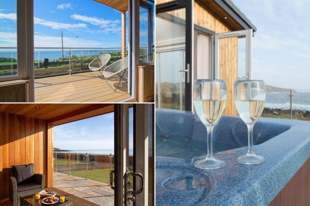 A glass of bubbly is always better with that view.