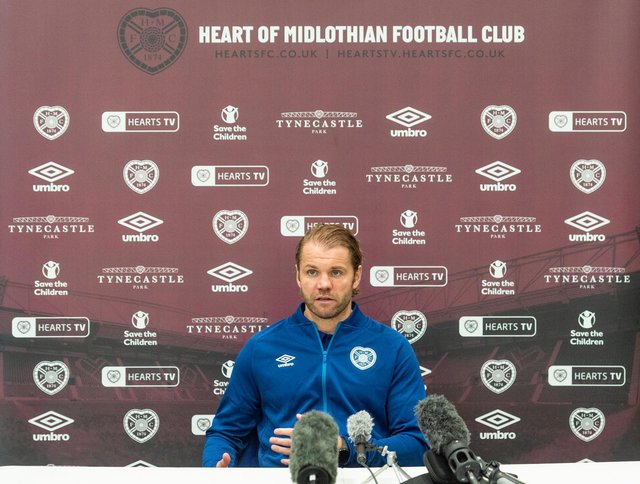 Hearts manager Robbie Neilson is preparing for next season.