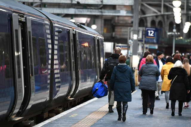 ScotRail passengers have suffered nine weeks of disruption from the Sunday strikes. Picture: John Devlin