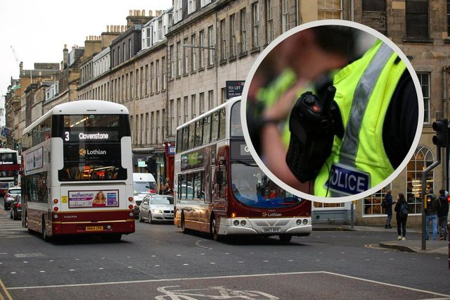 A Lothian bus driver was injured in the attack picture: JPI Media