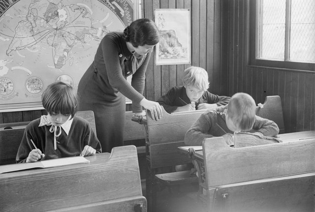Scottish education was once world-renowned but in recent years has been out-performed by systems in other countries like Finland (Picture: Martin/Fox Photos/Getty Images)