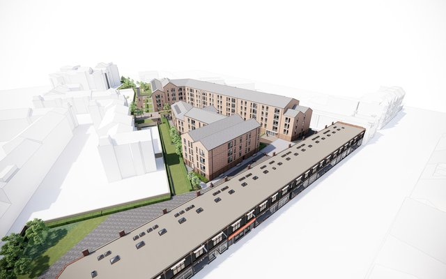 An overview of the Stead's Place development plans