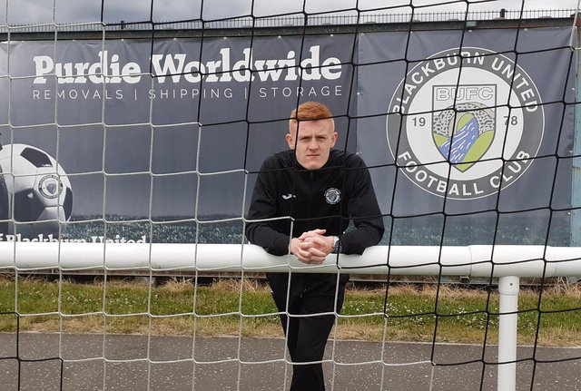 Dylan Anderson from Blackburn United Under-20s.