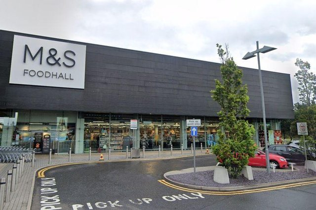 M&S at Fort Kinnaird
