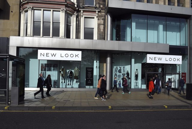 New Look on Princes Street will be close their doors and move to the new St James Centre