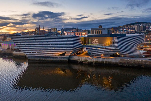V&A Dundee has attracted more than a million visitors since it opened to the public in September 2018. Picture: Frame Focus Capture Photography