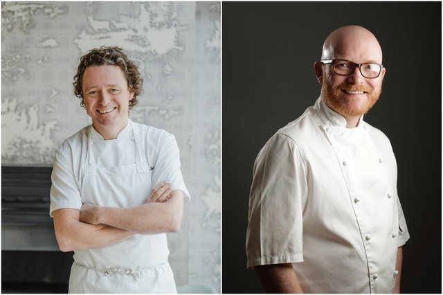 Tom Kitchin and Gary Maclean have reminded the public to #bekindtohospitality as restrictions ease