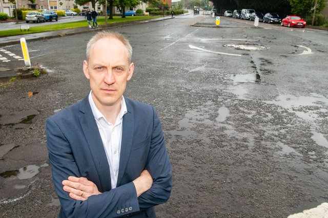 Councillor Kevin Lang raised the alarm after witnessing two near head-on crashes