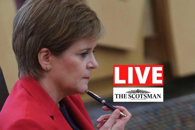 Live coverage of the latest Scottish Government coronavirus announcement.