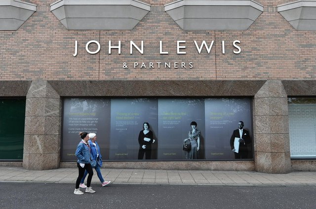 John Lewis currently has three department stores in Scotland, in Aberdeen, Edinburgh and Glasgow, pictured above. Picture: John Devlin