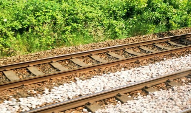 The five-year-old children were found playing on the railway line in the Addiewell area. Pic: BTP East Scot