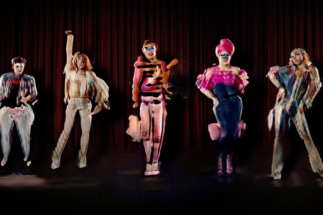 Artist Jake Elwes has worked with real-life drag artists to create The Zizi Show.