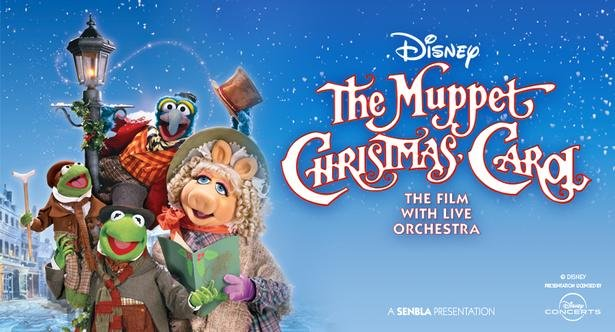 Disney's The Muppet Christmas Carol will be presented live in concert this winter across the UK, featuring its musical score performed live to the film.