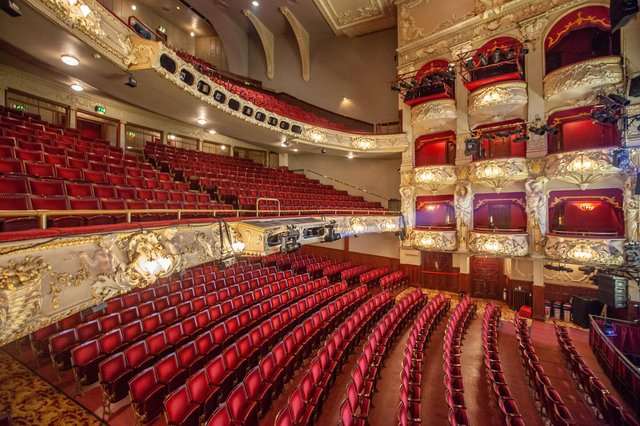 The King's Theatre in Edinburgh is due to welcome audiences back in July. Picture: Mike Hume