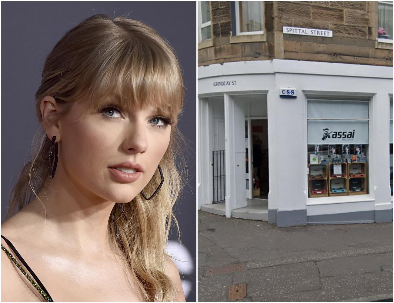 Taylor Swift Helps Out Edinburgh Record Store With Exclusive Signed Cds Edinburgh News
