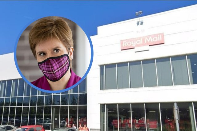 Bomb squad called to 'smoking package addressed to Nicola Sturgeon' at Edinburgh Royal Mail office