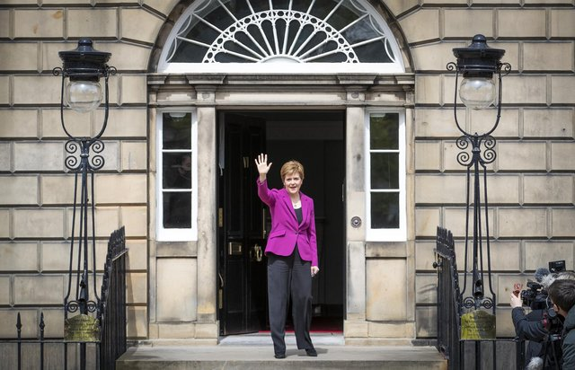 Nicola Sturgeon is in no rush to call Indyref2 (Picture: Jane Barlow/PA)