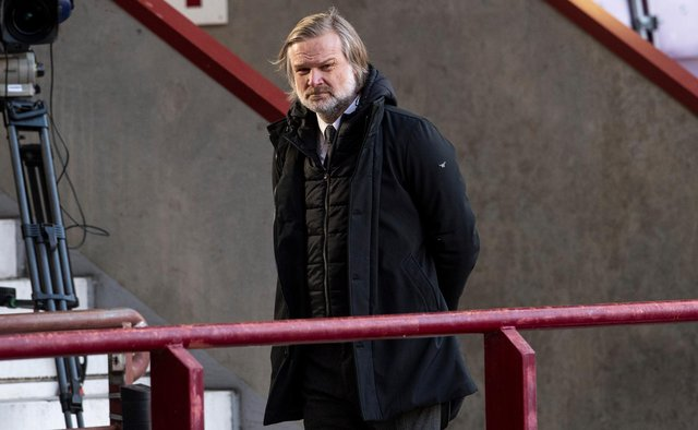 Steven Pressley has called on the Hearts support to back Robbie Neilson. Picture: SNS