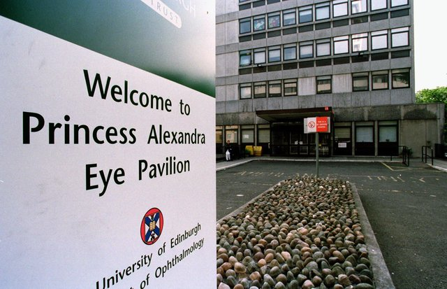 The Scottish Government is refusing to fund a replacement for the Princess Alexandra Eye Pavilion