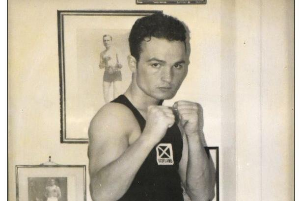 Bradley Welsh in his amateur boxing days.