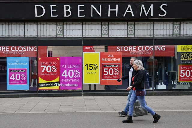Closure of the remaining Debenhams stores signals the end of an era for one of the high street's historic retailers. (Pic: Getty Images)