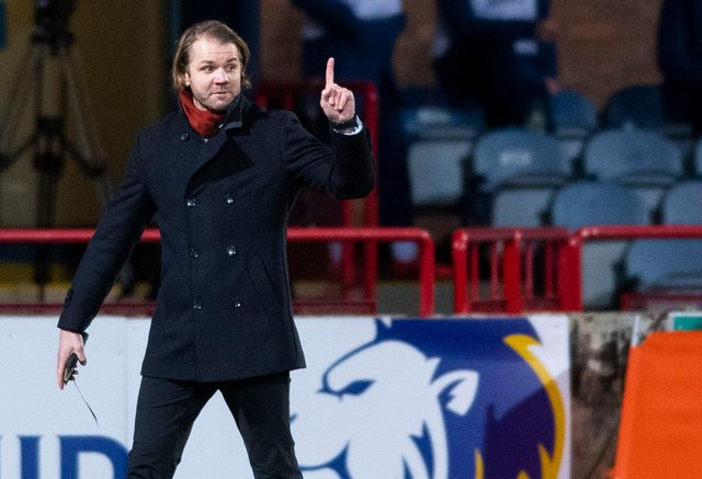 Hearts manager Robbie Neilson has watched his side draw each of their last three games. Picture: SNS