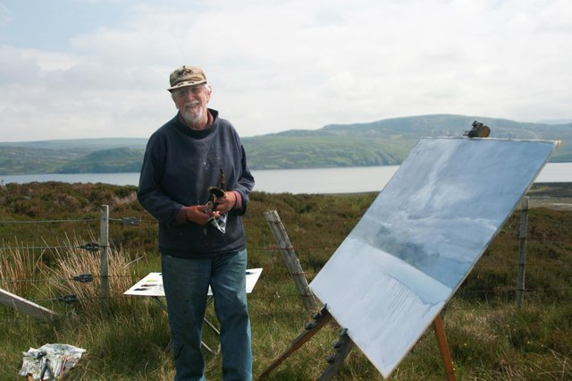 Interest has grown in the work of the late Scottish artist James Morrison after a documentary was screened