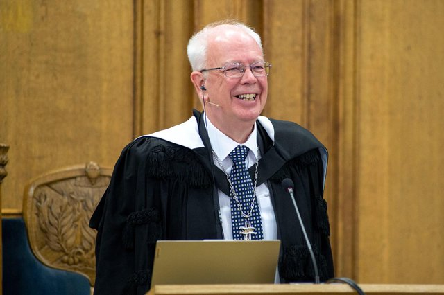 Lord Wallace became Moderator at last month's Church of Scotland General Assembly