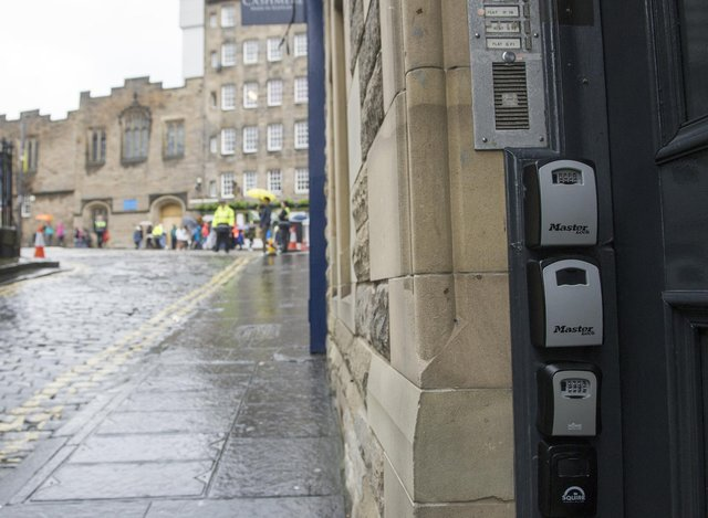 Airbnb will donate £5 from each stay that takes place in Edinburgh during the month of August.