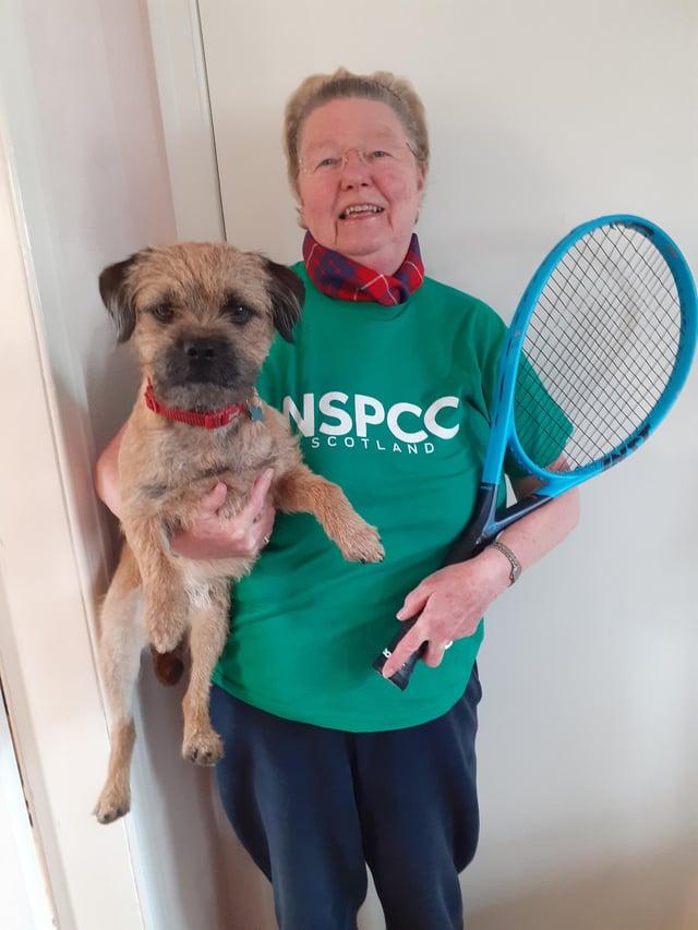 Linda Hamilton, Community Fundraising Manager, NSPCC Scotland