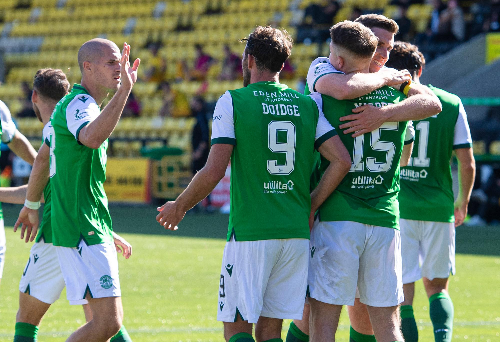 Strike force to be feared - with plenty of supply: Three Hibs observations after stunning win at Livingston
