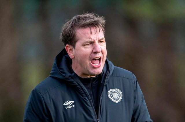Daniel Stendel insists he will fight for Hearts' survival.
