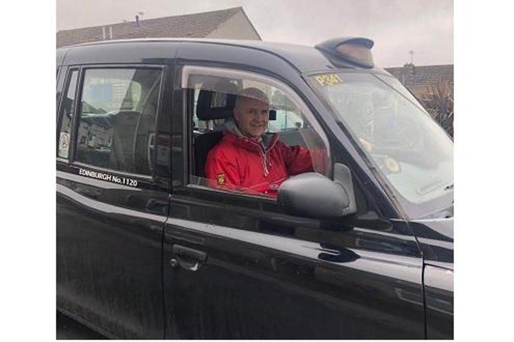 Fake london cab