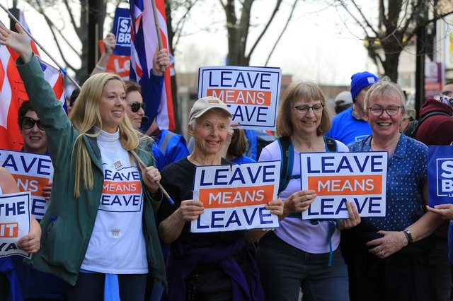 Brexit supporters may end up being disappointed by the reality, suggests Helen Martin (Picture: Chris Etchells)