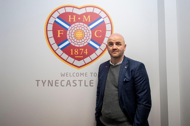 Hearts sporting director Joe Savage. Picture: SNS