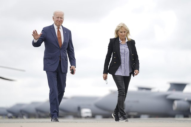 President Joe Biden, pictured here with First Lady Jill Biden, has signalled a new commitment to world co-operation - and Scotland needs to join the table, writes Angus Roberston.