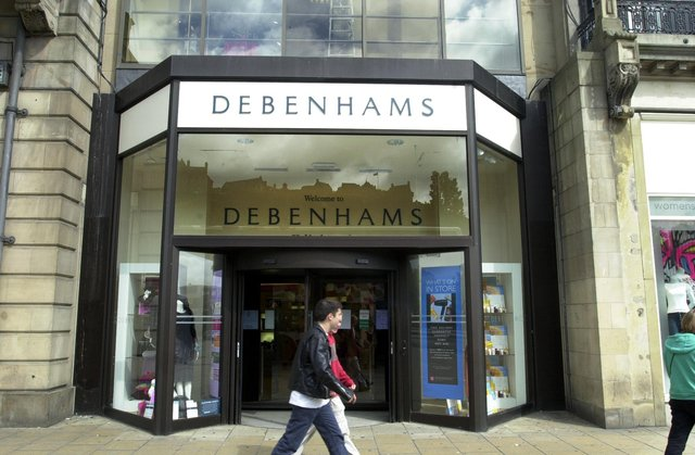 The Princes Street Debenhams is set to be redeveloped into a hotel by the building's owners.