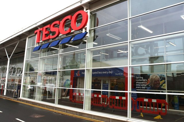 Despite a strong top-line performance, Tesco was hit by expensive physical distancing measures and additional staff costs during the pandemic. Picture: Andrew Milligan/PA Wire