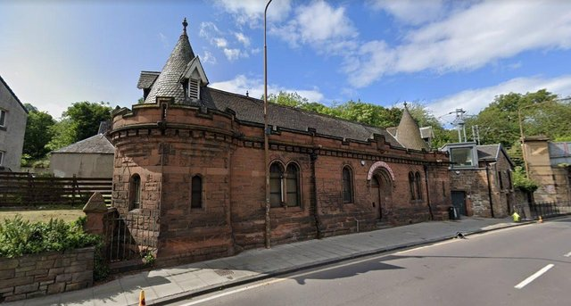 Formerly a police station, this Romanesque building on Edinburgh's Abbeyhill was once home to a restaurant called Aghtamar Lake Van Monastery in Exile (Picture: Google Street View)