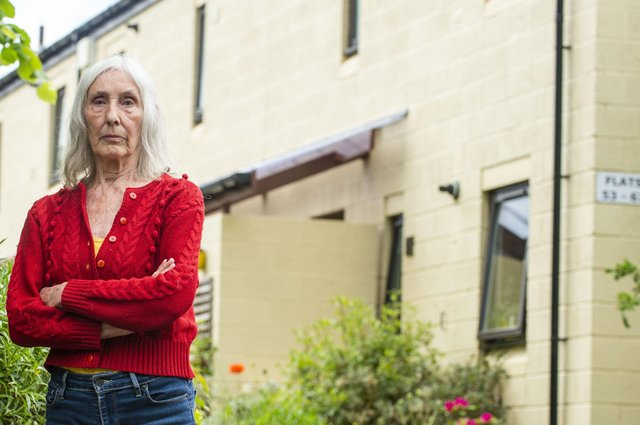 Barbara Bryan says she will not be moving      Picture: Lisa Ferguson