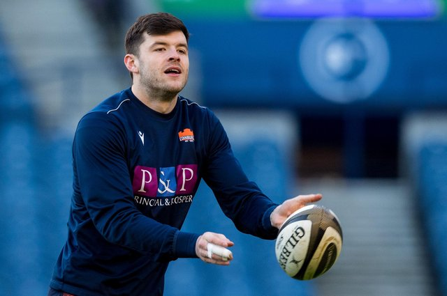 Blair Kinghorn has been picked at stand-off in the hope he will provide a creative threat for Edinburgh against Racing 92. Picture: Ross Parker/SNS
