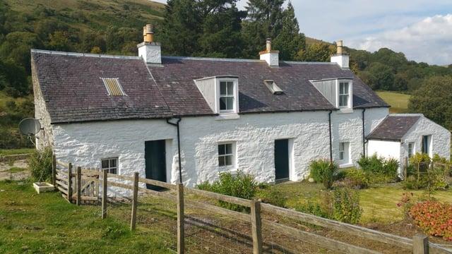 Scottish stone cottage