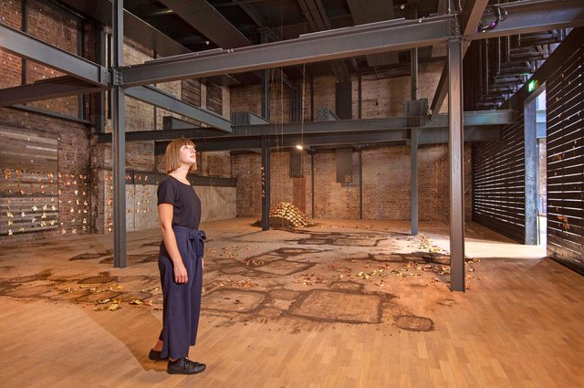 Susie Gladwin gets a sneak preview of the new space at the Fruitmarket Gallery in Edinburgh.
