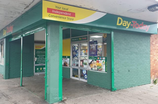Day-Today convenience store on Easter Drylaw Place (image Day-Today).