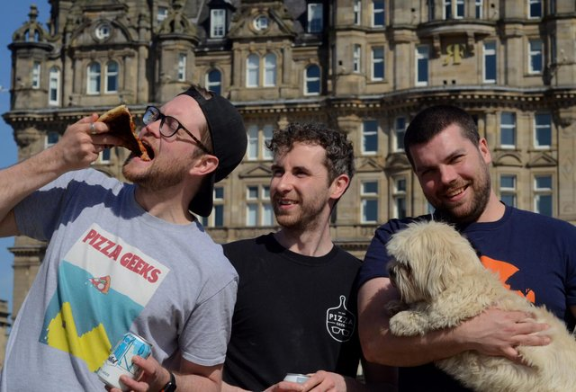 Pizza Geeks announced new collaboration with Cask Smugglers.