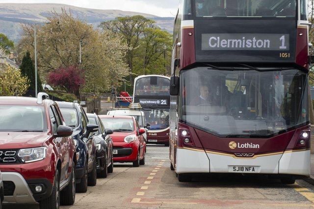 Lothian Buses cancelled all services on the evening of March 17