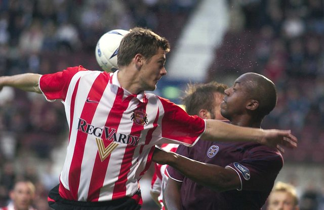 Hearts and Sunderland played out a 2-2 draw in 2003. Picture: SNS