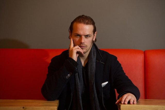 Sam Heughan is one of the most high-profile Scottish celebrities to support the independence cause. Picture: John Devlin
