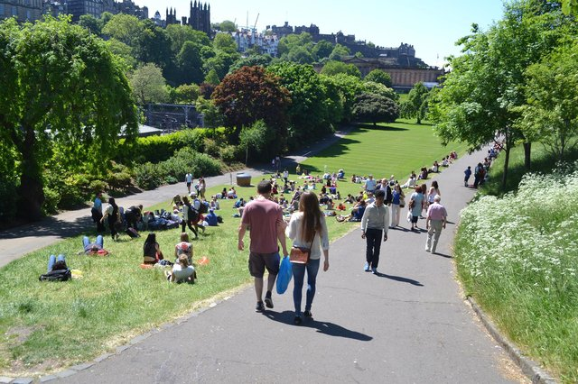 Edinburgh city centre must be able to keep drawing people to its heart, says John McLellan. PIC: Daniel/CC