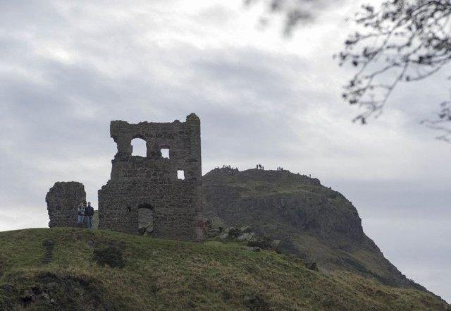 Historic St Anthony's Chapel is closed to the public over fears of a masonry fall.